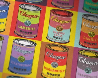Glasgow Soup Two. Large Giclee print.
