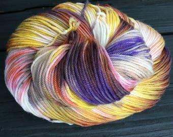 Smolder - Super-Wash Merino & Nylon Hand-dyed DK Weight Yarn