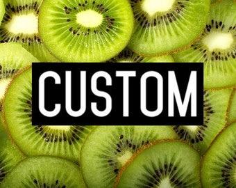 Custom 8oz Crunchy Slime!