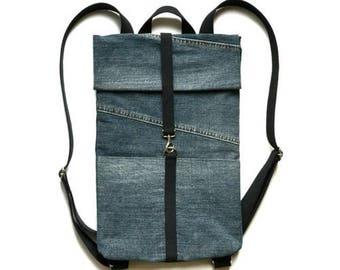 Rolltop Backpack / Backpacks For Women / Backpack For Women / Women Backpack / Womens Backpacks / Light Backpack / Small Backpack / Vegan