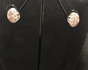 Rose quartz earrings with 925 silver