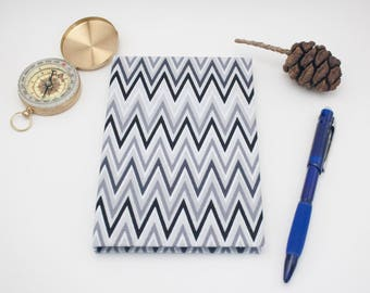 Chevron A6 Fabric Hardcover Notebook Journal