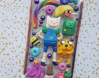 Adventure time decoden kawaii  handmade phone case for IPhone