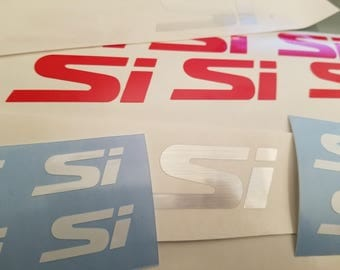 Si Logo for various placements 2pc