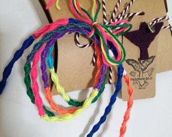 Colorful Tangle-free Earphones