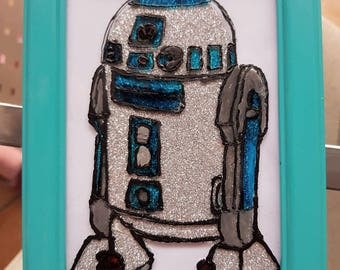 R2-D2: Painting on Glass