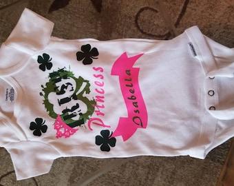 Girls Irish Princess t shirt