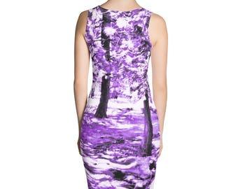 Purple Cotton Candy Forest Dress