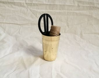 Vintage Brass Indian Cup