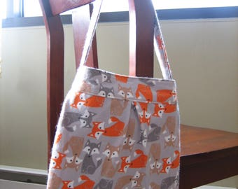 The Foxy Flannel Bag