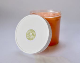 Orange Blossom Slime (scented, stress relief, anxiety relief, thick, glossy, handmade)