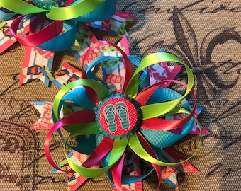 Summer hairbows