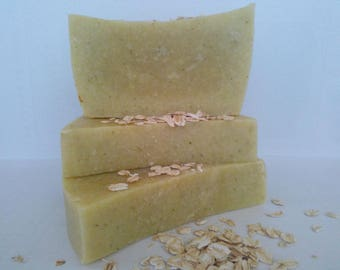 Oatmeal Soap with Thyme and Mint «HOLLY»