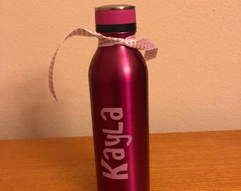 Personalized Stainless Water Bottle