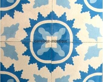 Cement Feret blue tiles