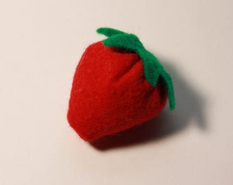 Strawberry Catnip Toy