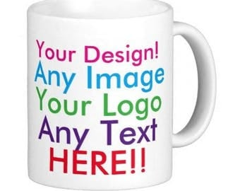 Mug, Cup, personalised with any design