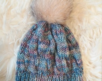 Wonderful malagribo hat with pompon