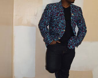 Men's Blazers, Ankara Sport's Jacket