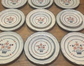 Handmade Vintage Brambleberry set of 12 DP and 5 SP