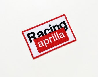 Aprilia Racing Team Embroidered Sew Iron On Patch