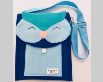 Happy Owl Travel Bag
