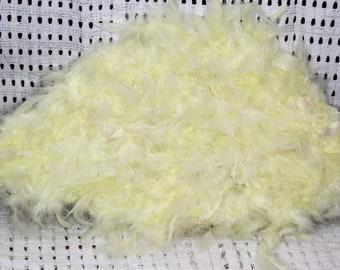 Canary Yellow Custom Traditional Wedding Fan/Igbo/Benin/Yoruba/Edo Wedding