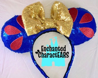Snow White Ears Custom Minnie Ears