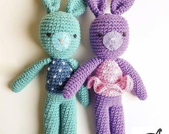 Easter Bunny Softies