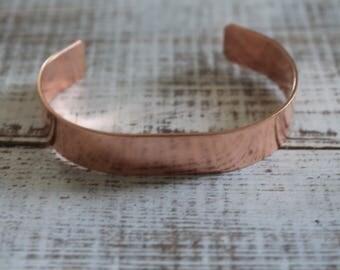 """50 - 1/2"""" by 6"""" copper cuff bracelet blanks, copper cuff blanks, Bracelet Blanks, Cuff Blanks"""