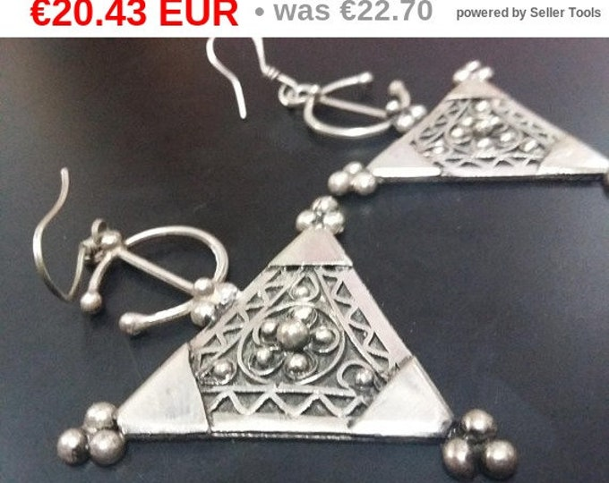 jewelry Boucles d'oreilles pure ancien argent 925 berbères marocains berber pure silver earrings gift for her