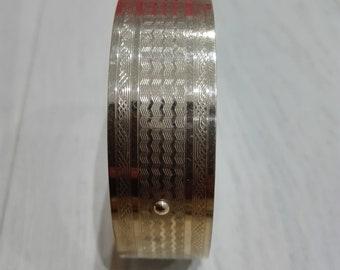 Vintage bangle 9ct Rolled gold