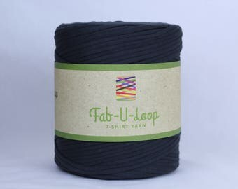 "T-Shirt Yarn - ""Abyss""  ~160 yards, 130 m"