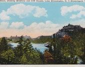 Antique postcard Wildmire Cliff House Lake Minnewaska NY UNUSED