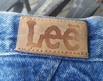 Vtg 80s Lee Jeans High Waisted Size 14 Petite