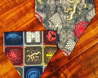 Game of Thrones Pet Bandana GOT
