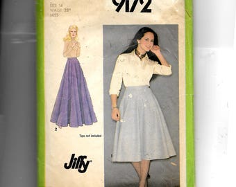 Simplicity Misses' Skirt In Two Lengths Pattern 9172