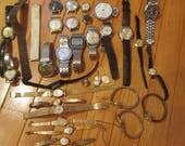 Vintage 2 Pounds Watch Repair Lot
