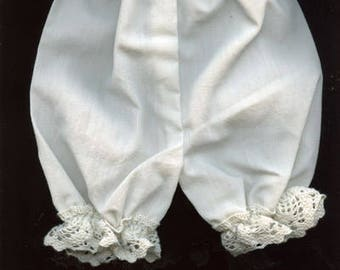 French doll Pantaloons and white shoes  PTS 1
