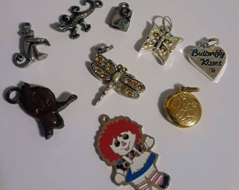 Mixed Lot of Tiny Assorted Charms