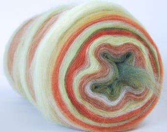INTRODUCING LOOP LUX!  25% Cashmere!  25 Tussah Silk 50 Merino - Bullseye Bump - (5.0 oz. center-pull bump)