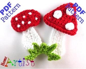 Mushrooms crochet pattern