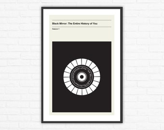 Black Mirror Season 1, Episode 3: The Entire History of You Minimalism Movie Poster