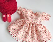 "Reggiesdolls Perfect Party Dress  pattern PDF Fits 10"" dolls and Teddy Bears"