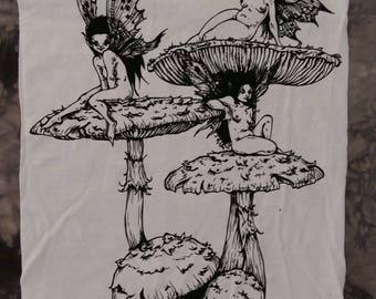 mushroom // liselotte eriksson // backpatch