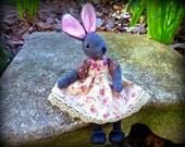 Art Doll Miniature Rabbit