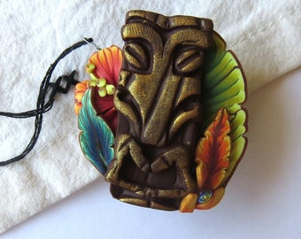 Tiki Needle Minder Island Style Sewing Notions Needle Magnet