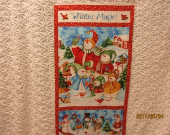 Little Knight Quilt Kit Panel Stripe Quick Easy Fun