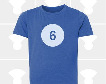 6th Birthday Shirt - Boys & Girls Unisex TShirt