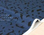 Japanese Fabric Kokka Botanical lawn - blue - 50cm
